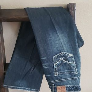 BKE Stretch Dark Wash Bootcut Size 30